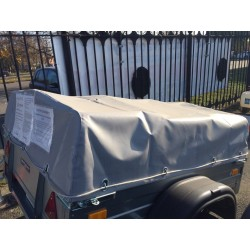 Комплект дуг и тента для прицепа ССТ-01 (57 см)