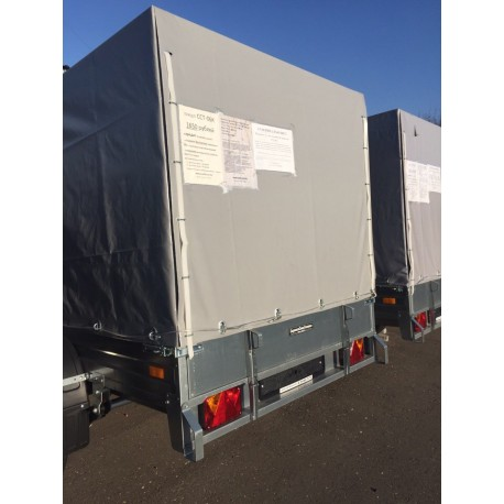 Комплект дуг и тента для прицепа ССТ-06К (100см, 144 см)