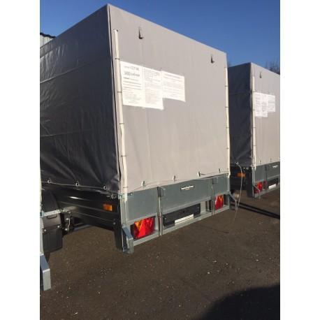 Комплект дуг и тента для прицепа ССТ-06 (144 см)