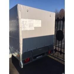 Комплект дуг и тента для прицепа ССТ-10 (144 см)