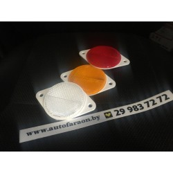 Прямоугольный светоотражатель DOB-039 Z,B,C c креплением на два винта