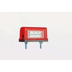 Фонарь освещения номерного знака FT-016/1 A  LED с проводом.
